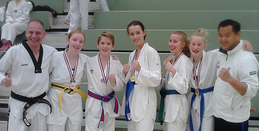Wallmenrother Taekwondo-Supersonics erfolgreich in Bottrop
