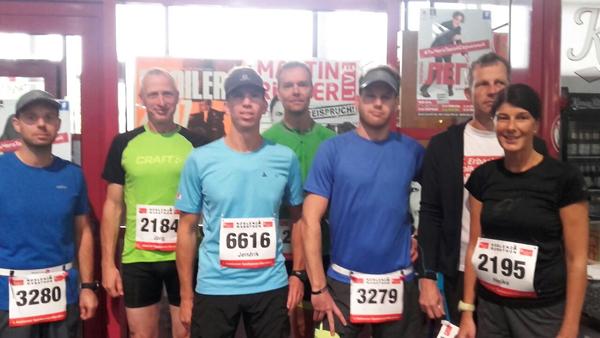Lauftreff Puderbach startete bei Sparkassen-Marathon