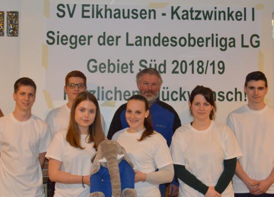 SV Elkhausen-Katzwinkel ist Meister der Landesoberliga