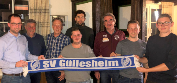 Stabwechsel beim SV G�llesheim: Paul M�ller f�hrt den Verein