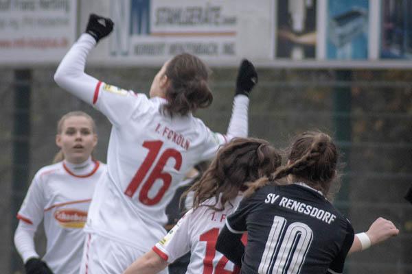 Rengsdorfer Juniorinnen unterliegen dem 1. FC Köln