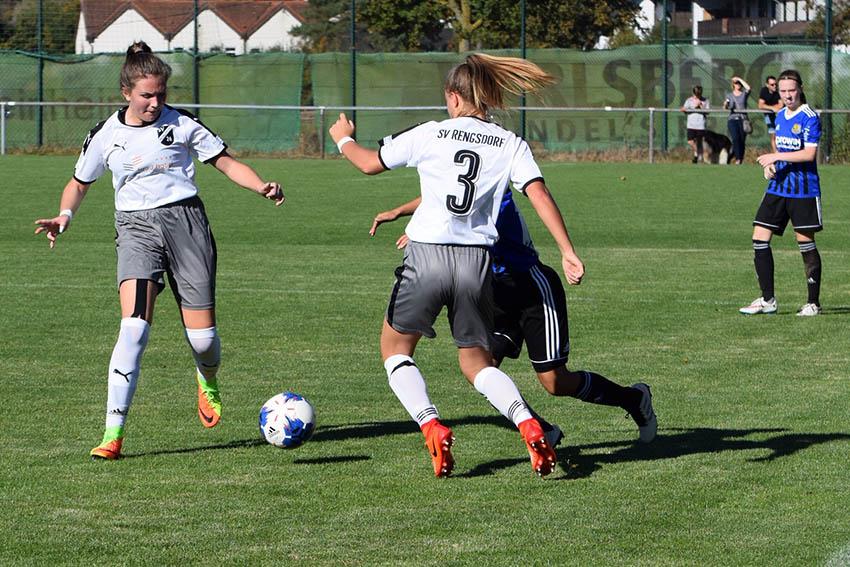 U17-Juniorinnen SV Rengsdorf feiern ersten Bundesliga-Sieg