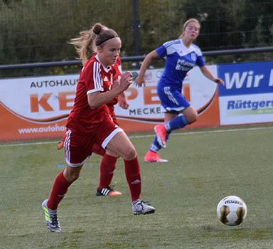 Celine Dickopf verstärkt den SV Rengsdorf