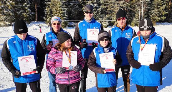 SVS Emmerzhausen bei Landesmeisterschaften und Skimarathon