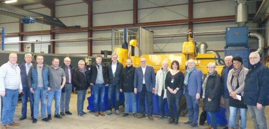 Betzdorfer CDU besuchte SvW Stahl- und Anlagenbau