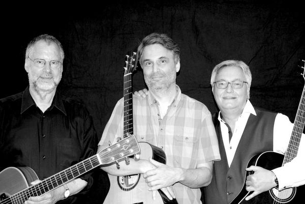 """""""Stille Töne"""": Trio Poesie mit neuem Programm im Atelier von Volker Vieregg"""
