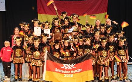 Wissener Mini- und Juniorentanzcorps holten Meisterschaft