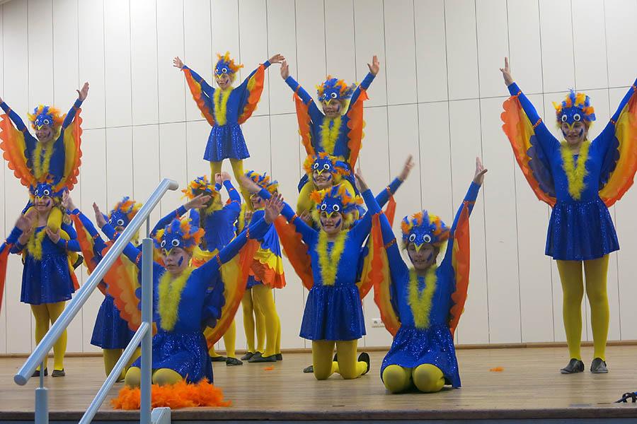 Faszinierendes Tanzspektakel in Herschbach