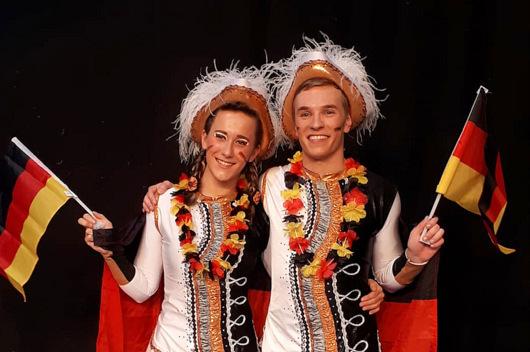 Dritter Platz f�r Herdorfer Tanzpaar
