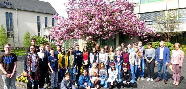 Franz�sische Austauschsch�ler aus Tarbes zu Gast in Altenkirchen