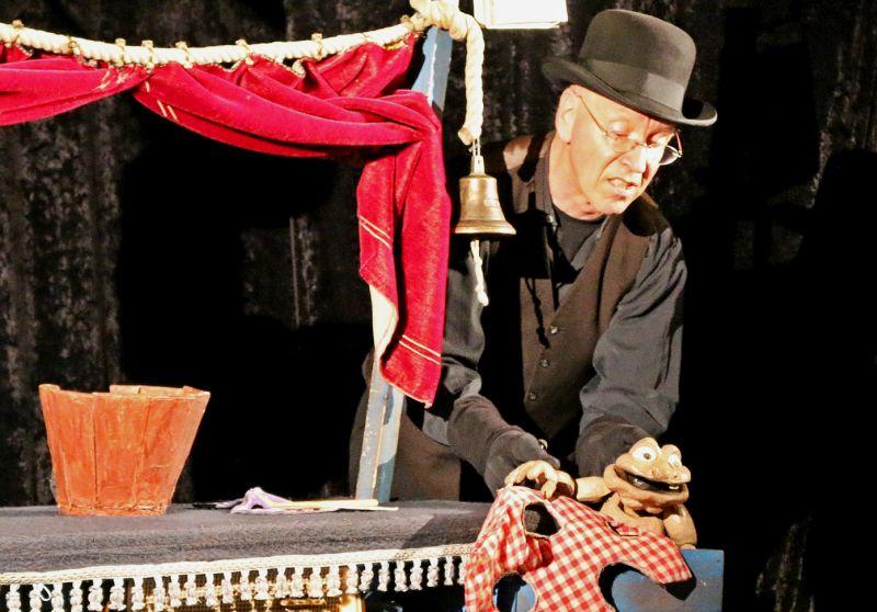 Berührendes Puppentheater in Selters