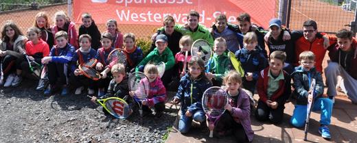 Tennisclub Horhausen er�ffnet Sommersaison mit Tennisolympiade