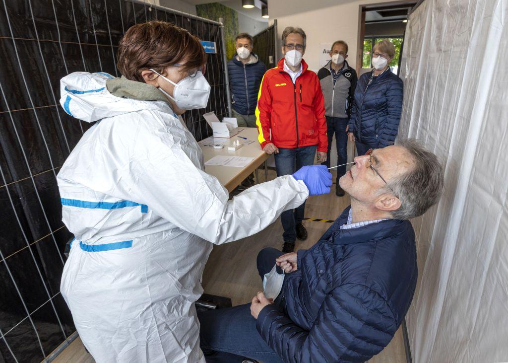 DLRG Ortsgruppe Bad Marienberg betreibt weiteres Testzentrum
