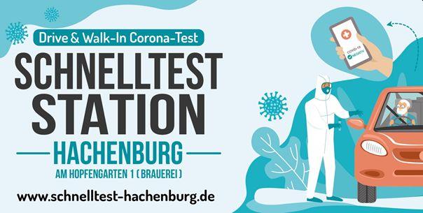 Kostenlose Corona-Schnelltests im Drive- und Walk-In Hachenburg