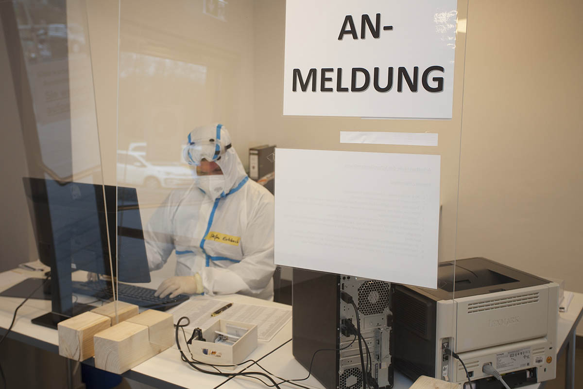 Corona-Testzentrum in Puderbach ist eröffnet
