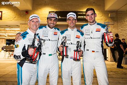 Luca Stolz: Zweiter Gesamtrang beim 24-Stunden-Rennen in Texas