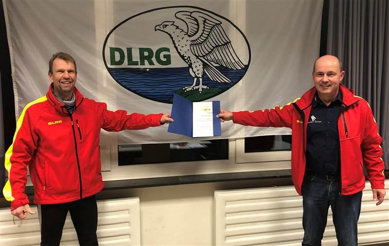 Betzdorf/Kirchen: Deswegen erhält Aktiver höchste DLRG-Auszeichnung