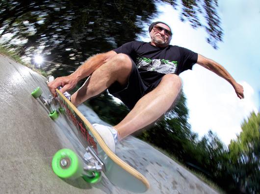 Skateboard-Pionier Titus Dittmann wurde 70