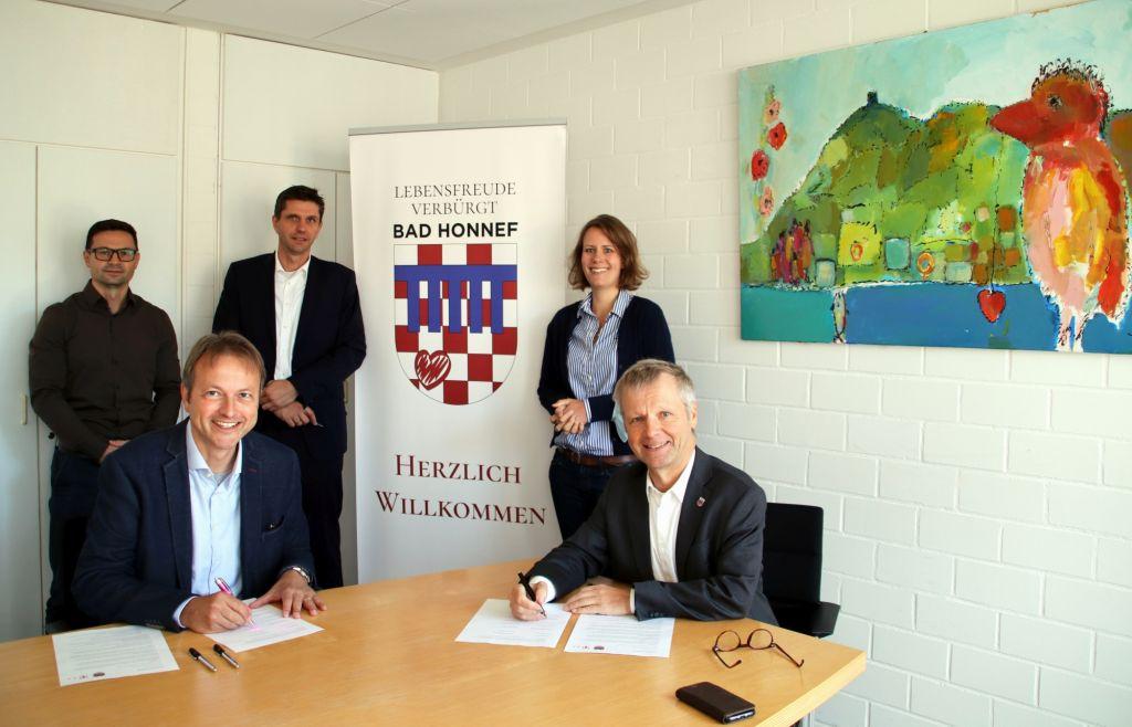 Telekom plant Ausbau des Glasfasernetzes in Bad Honnef