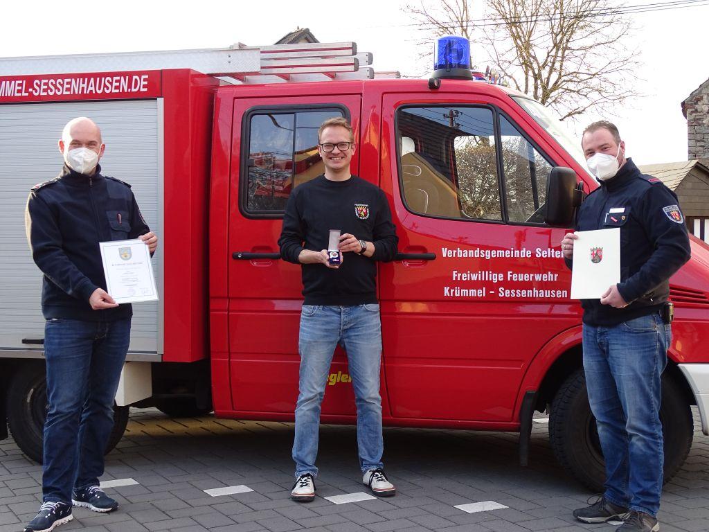 Ehrungstag bei der Freiwilligen Feuerwehr Krümmel-Sessenhausen
