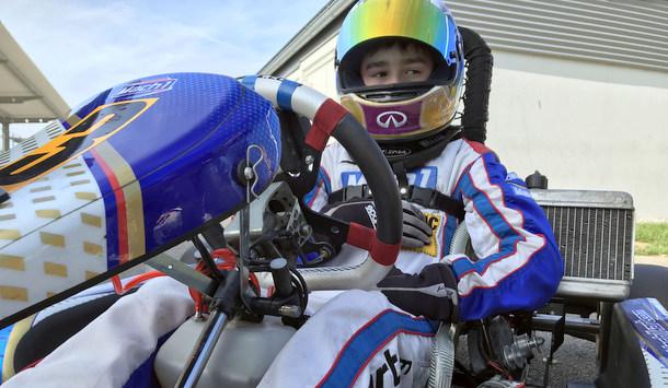 Hammer Kart-Pilot Tom Kalender holt weiteren Meister-Titel