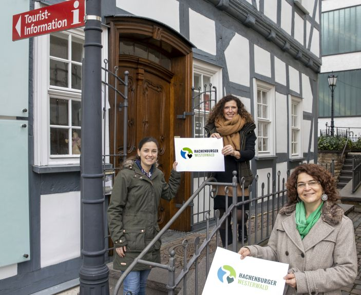 Tourist-Information Hachenburger Westerwald präsentiert neues Logo