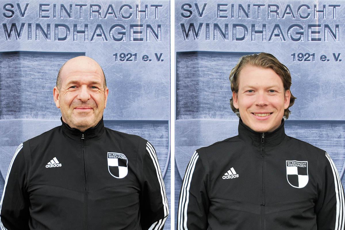 Uwe van Eckeren (links) und Richard von Klass. Foto: Verein