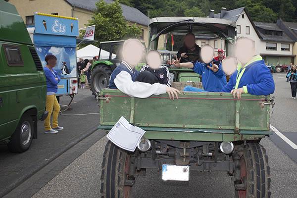 Vatertag: Bollerwagen statt Traktorgespann