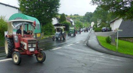 Auch bei Regen hat die Kroppacher Schweiz ihre Reize