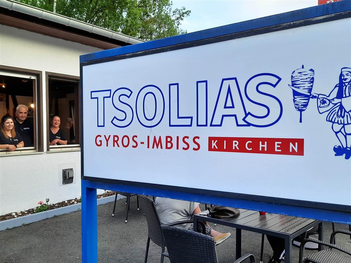 """Imbiss """"Tsolias"""" in Kirchen wiedereröffnet an Siegener Straße"""