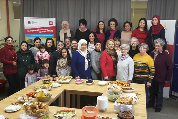 Türkisches Frauenfrühstück war ein großer Erfolg