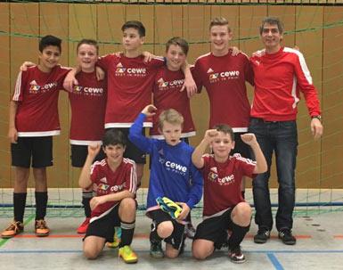 D-Jugend des VfL Hamm wurde Turniersieger in Wissen