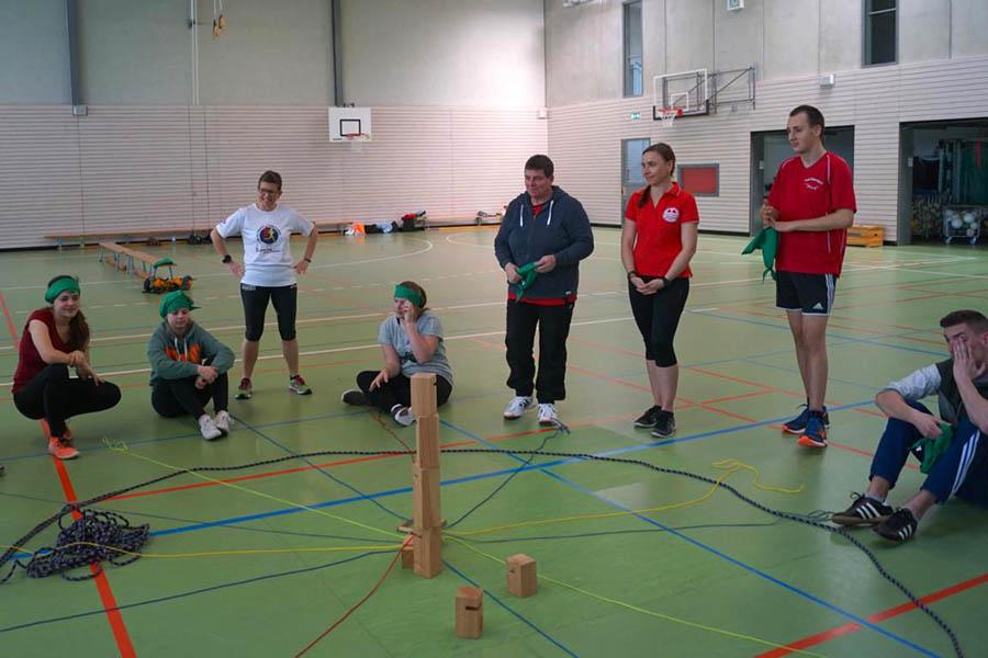 Teamtraining für Vorstand und Trainer des TuS Dierdorf