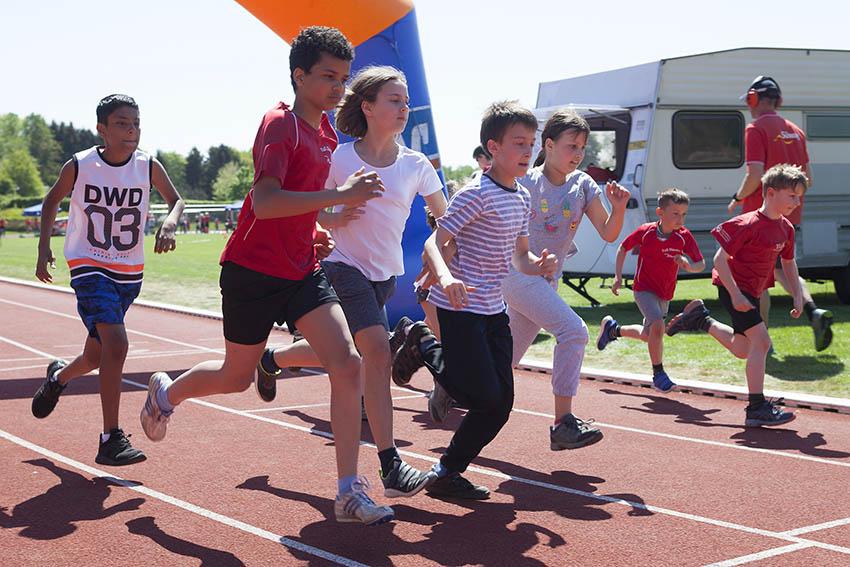 Leichtathletik-Bezirks- und Kreismeisterschaften in Dierdorf