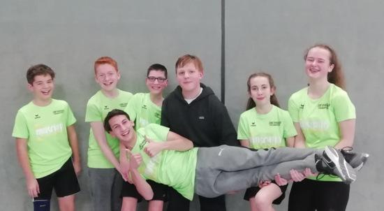 Turbulenter Start ins Jahr f�r die Badmintonjugend