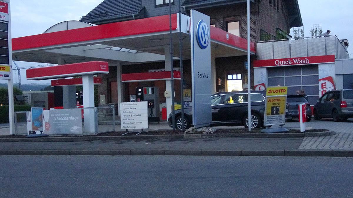 Raubüberfall auf Tankstelle in Herschbach