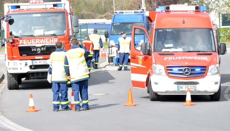 Katastrophenschutzeinheiten übten den Einsatzfall
