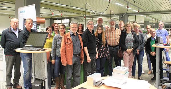 Im BFW Koblenz durften die Gäste aus dem Westerwald einige Ausbildungsbereiche kennen lernen. Foto: pr