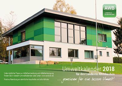 Umweltkalender 2018 für den Kreis Altenkirchen werden verteilt