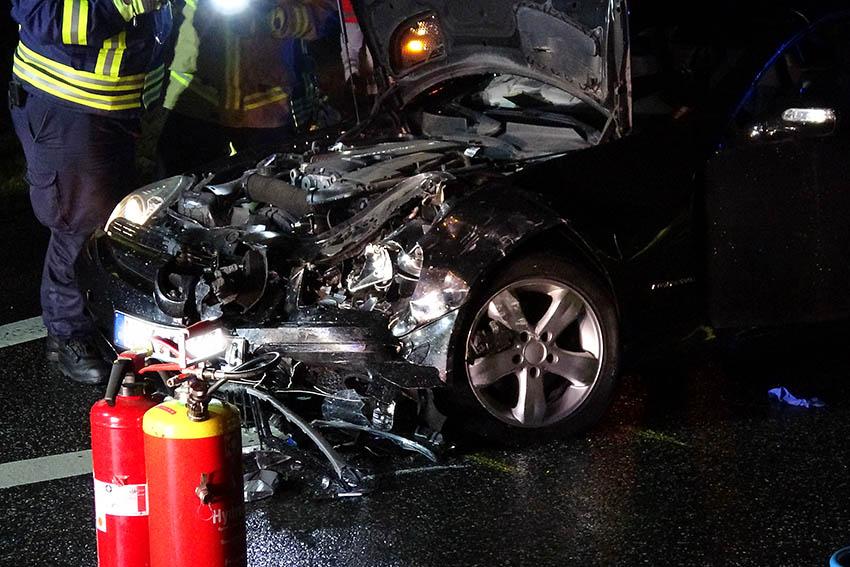 Schwerer Unfall bei Bendorf mit sechs Verletzten