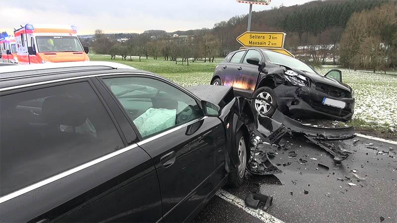Vorfahrt auf L 304 missachtet – zwei Verletzte