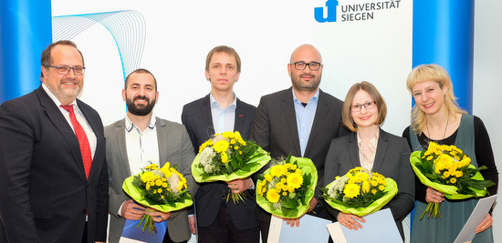 Auszeichnungen für wissenschaftlichen Nachwuchs in Siegen