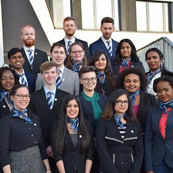 Studierende der Uni Siegen bei der UN-Simulation in New York