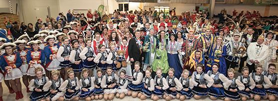 R�ddel freute sich �ber Besuch vieler Karnevalisten und Tollit�ten