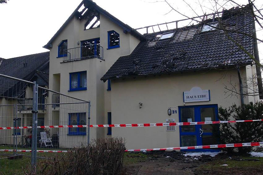 Technischer Defekt L Ste Brand In Seniorenheim Aus Nr