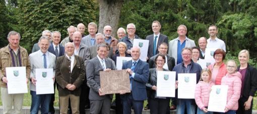 Zukunftsfähige Gemeinden: Kreis ehrt Sieger im Dorfwettbewerb