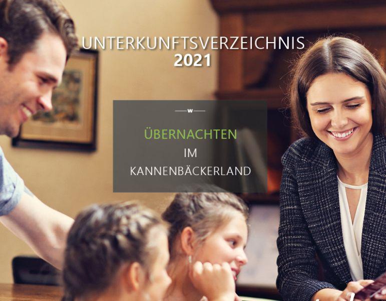 Gemeinsames Unterkunftsverzeichnis Kannenbäckerland 2021 erschienen