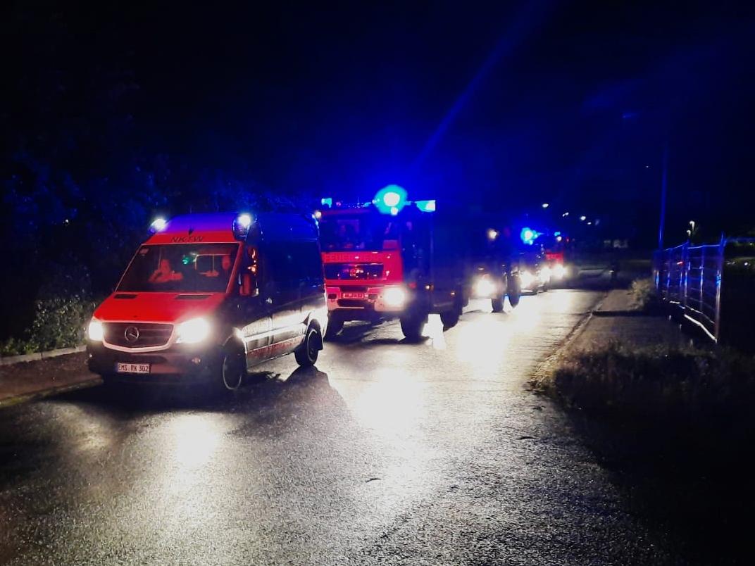 Unwetter: Hilfe aus Kreis Altenkirchen in Ahrweiler und in Hückeswagen