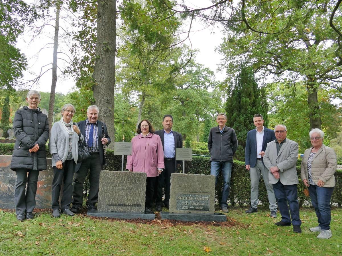 Grabsteine erinnern an verdiente Betzdorfer Pauline und Arndt Adorf