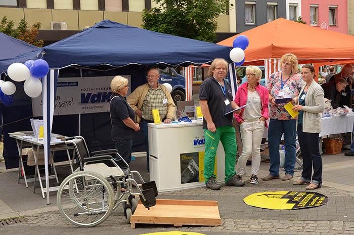 VdK präsentiert sich beim Ehrenamtstag in Bad Hönningen